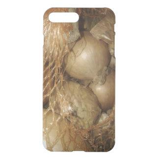 Lökar i netto, mat, grönsaker, ovanlig iPhone iPhone 7 Plus Skal