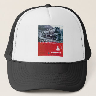 Lokomotiv för ånga för Baldwin lokomotiv S-2 Truckerkeps