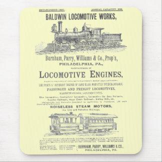 Lokomotiv för Baldwin rörliga arbetsånga Musmatta