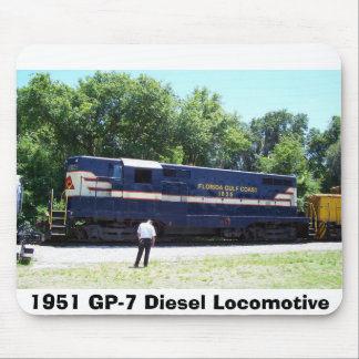Lokomotiv för diesel 1951 GP-7 Musmatta
