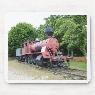 Lokomotiv för vintageamerikanånga musmatta