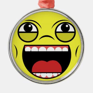 LOL-ansikte Julgransprydnad Metall
