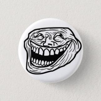 LOL-ansikteemblem Mini Knapp Rund 3.2 Cm