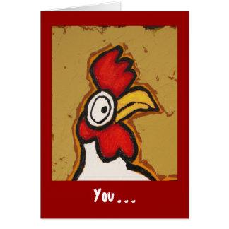 LOL avslutar du mig kortet Hälsningskort