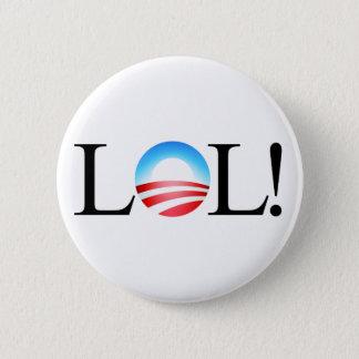 LOL Obama knäppas Standard Knapp Rund 5.7 Cm