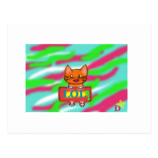 LOL Warrriorcats Vykort