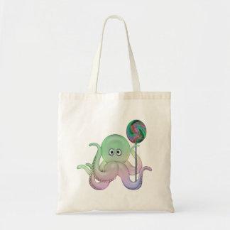 Lolli-pop bläckfiskbarns toto/blöja budget tygkasse