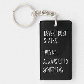 Lömsk trappor nyckelring