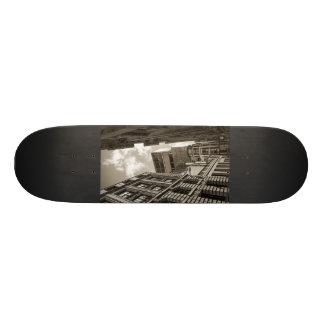 London arkitektur mini skateboard bräda 18,7 cm