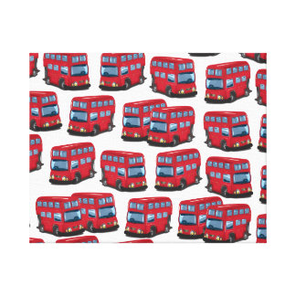 London buss canvastryck