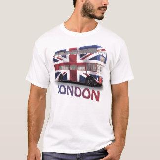 London buss med den fackliga jacken t-shirts