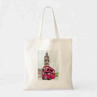 London buss och stora Ben Tygkasse