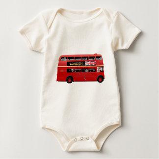 London den röda bussen krypdräkt