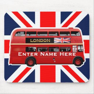 London den röda bussen musmatta
