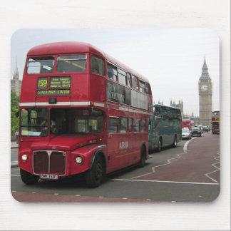 London dubbeldäckarebuss mus matta
