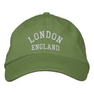 LONDON England Broderad Keps
