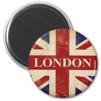 London - facklig jack - jag älskar London Magnet