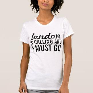 London kallar, och jag måste gå tee