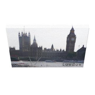 London kanfas sträckt kanvastryck