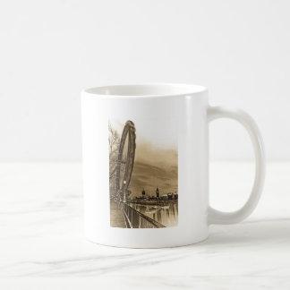 London öga och Westminster konst Kaffe Muggar