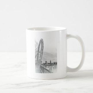 London öga och Westminster konst Kaffe Kopp