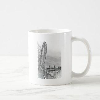 London öga och Westminster konst Kaffe Koppar