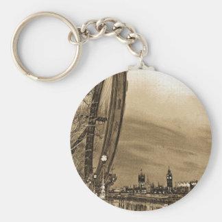 London öga och Westminster konst Nyckel Ring
