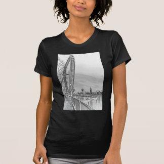 London öga och Westminster konst Tee Shirt