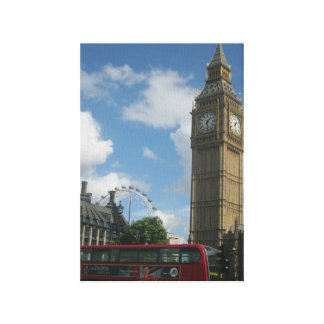 London öga & stora Ben Canvastryck