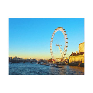London ögasolnedgång canvastryck