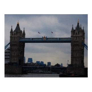 London överbryggar vykort