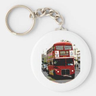London röda bussRoutemaster bussar Rund Nyckelring