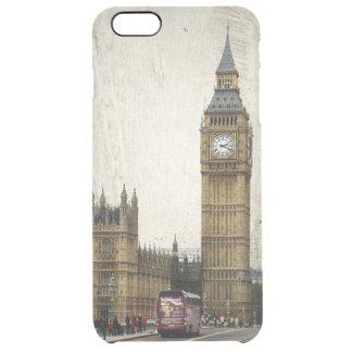 London stora Ben och buss Clear iPhone 6 Plus Skal