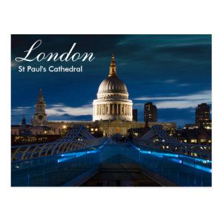 London - Sts Paul domkyrkavykort Vykort