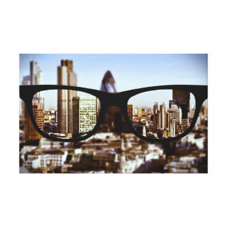 London till och med Sapio exponeringsglas Canvastryck