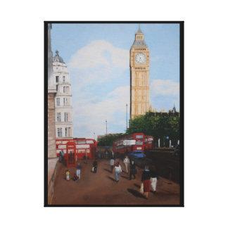London tränga någon oljemålning canvastryck
