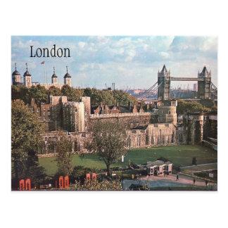 London vintagevykort vykort