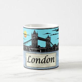 London vit mugg för 11 uns klassikervit