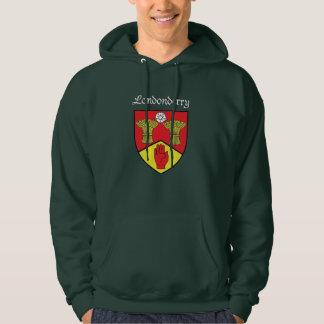 Londonderry Hooded svettskjorta Sweatshirt