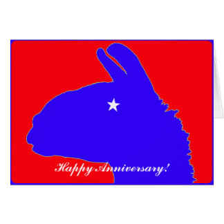 Lonestar Llama av Texas med stjärnaögat OBS Kort