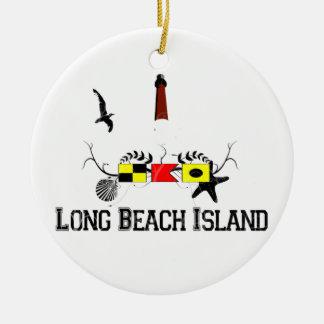 Long Beach ö Julgransprydnad Keramik