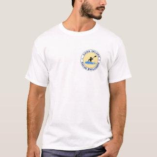 Long Islandkajakutforskare beklär och den tillbaka Tee Shirt
