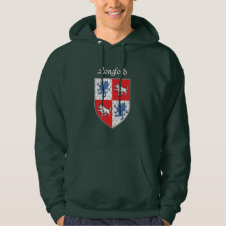 Longford Hooded svettskjorta Munkjacka
