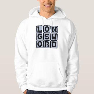 Longsword brutalt vapen sweatshirt
