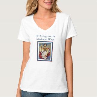 Lönkongress den minimum timpenningen t shirt