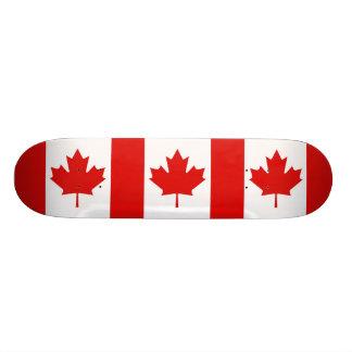 Lönnlövflagga av Kanada Skateboard Bräda 21,5 Cm