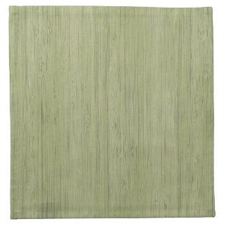 Look för korn för grön bambu för Moss Wood Tygservett