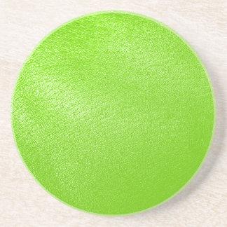 Look för limefruktgröntläder (fauxen) underlägg