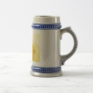 Look för vintage för gul pingstliljapåsklilja sejdel