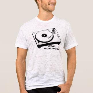 Look för vintage för old schoolvändbord t-shirts